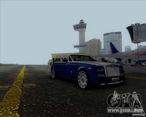 Rolls Royce Phantom Series II Drophead Coupe 12 for GTA San Andreas back left view