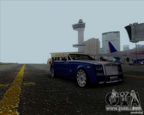 Rolls Royce Phantom Series II Drophead Coupe 12 for GTA San Andreas back left view