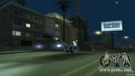 Invisible Blista Compact for GTA San Andreas