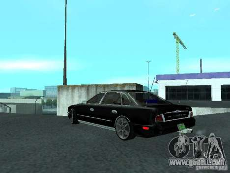 Nissan President JS for GTA San Andreas back left view
