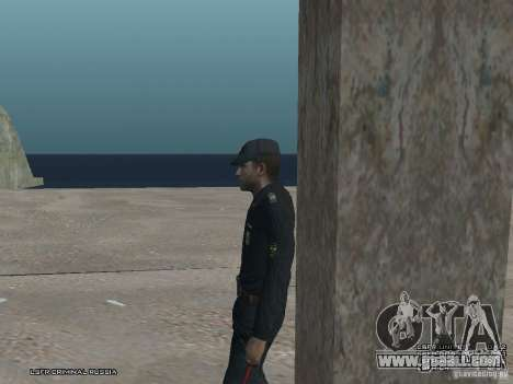 Sergeant PPP for GTA San Andreas eighth screenshot