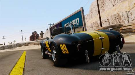 AC Cobra 427 for GTA 4 back left view