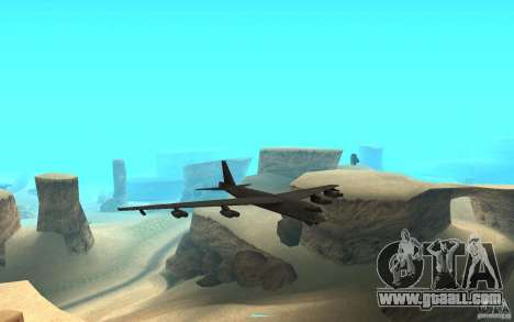 Boeing B-52 Stratofortress for GTA San Andreas back view