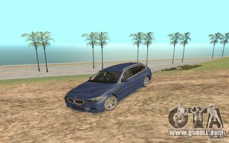 BMW M5 F11 Touring for GTA San Andreas left view
