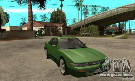 Nissan Silvia S13 1992 Club Ks for GTA San Andreas back view