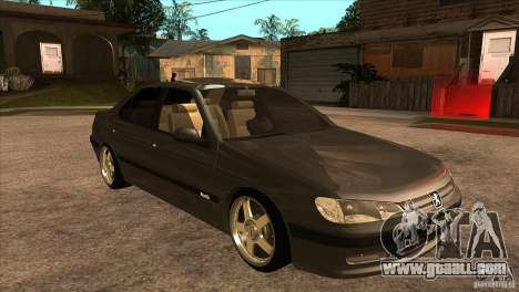 Peugeot 406 v1 for GTA San Andreas back view