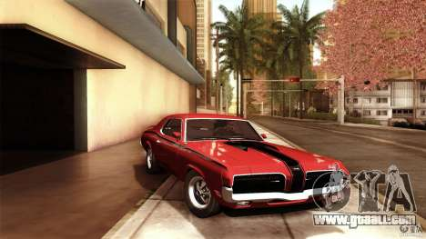 Mercury Cougar Eliminator 1970 for GTA San Andreas