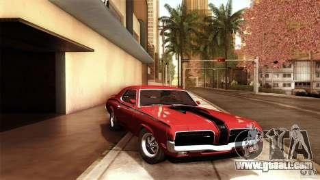 Mercury Cougar Eliminator 1970 for GTA San Andreas