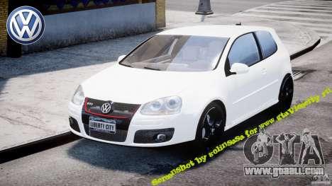 Volkswagen Golf 5 GTI for GTA 4