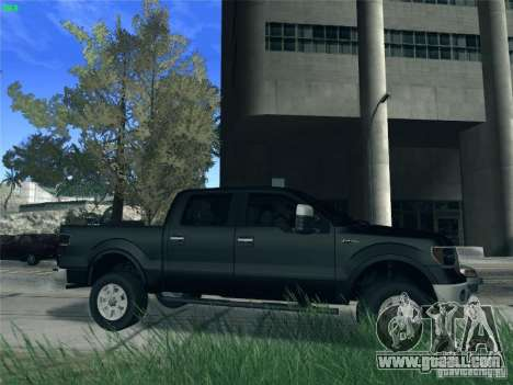 Ford F-150 2013 for GTA San Andreas back left view