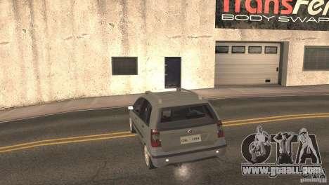 Fiat Idea HLX for GTA San Andreas back view
