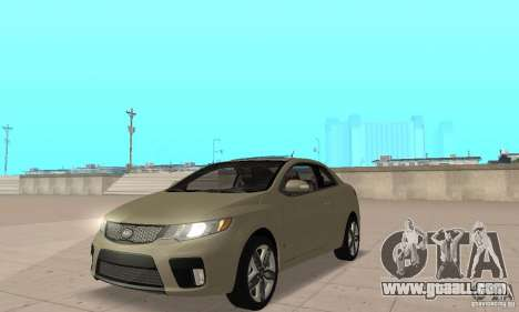 Kia Forte Koup 2010 for GTA San Andreas