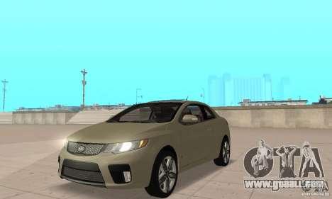 Kia Forte Koup 2010 for GTA San Andreas