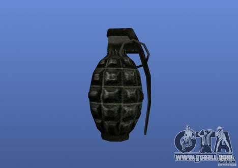 Grenade for GTA 4 forth screenshot