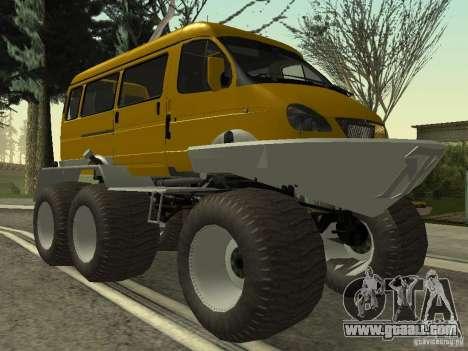 Gazelle 2705 swamp buggy for GTA San Andreas