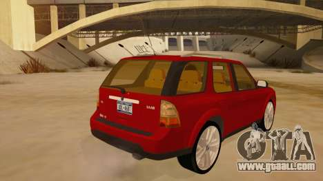 Saab 9-7X for GTA San Andreas right view