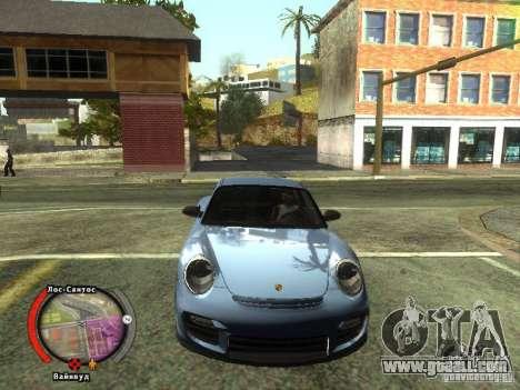 New HUD by shama123 for GTA San Andreas third screenshot