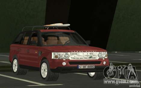 Land Rover Range Rover 2007 for GTA San Andreas back view