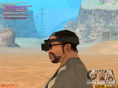 Thermal Goggles for GTA San Andreas third screenshot
