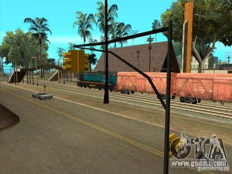 Tem2um-420 for GTA San Andreas back view