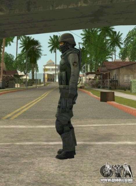 Counter-terrorist for GTA San Andreas
