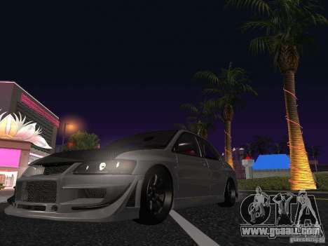 Mitsubishi Lancer Evolution VIII for GTA San Andreas