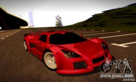 Gumpert Apollo for GTA San Andreas back view
