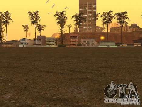 HD Santa Maria Beach for GTA San Andreas third screenshot