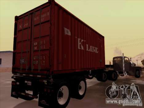 Container for GTA San Andreas right view