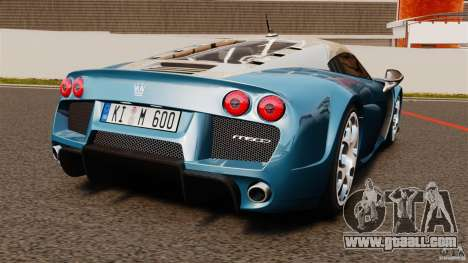 Noble M600 Bicolore 2010 for GTA 4 back left view