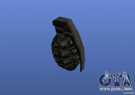 Grenade for GTA 4