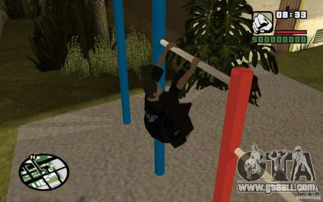 Horizontal Bars for GTA San Andreas third screenshot