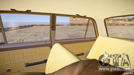 VAZ 2101 Stock v2.0 for GTA 4 inner view