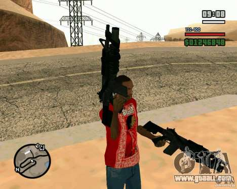 Black Ops Commando for GTA San Andreas