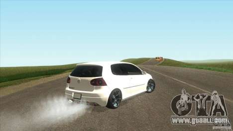 Volkswagen Golf for GTA San Andreas right view