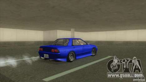 Nissan Skyline R32 GTS-T for GTA San Andreas back left view