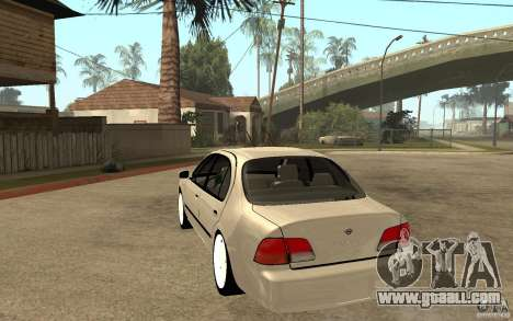 Nissan Maxima 1998 for GTA San Andreas back left view