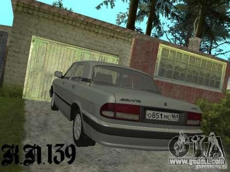 Gaz 3110 beta 0.1 for GTA San Andreas left view