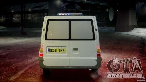 Ford Transit Polish Firetruck [ELS] for GTA 4 bottom view