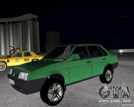 Vaz 21099 Light Tuned for GTA Vice City
