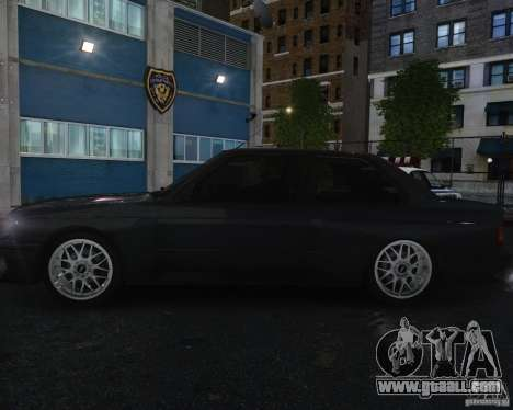 BMW M3 E30 for GTA 4 upper view