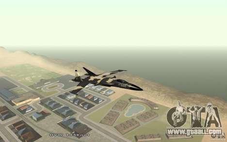 Su-32 Golden Eagle for GTA San Andreas left view