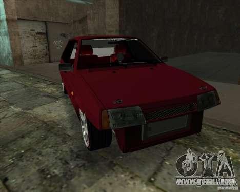 VAZ 2109 Drift for GTA San Andreas back left view