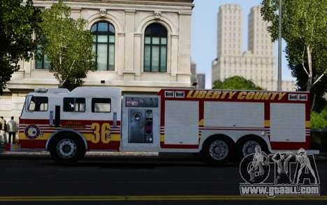 Pierce Heavy Rescue Pumper V1.4 for GTA 4
