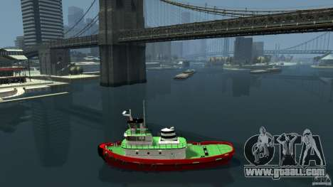 TUG Texture and Handling for GTA 4 left view