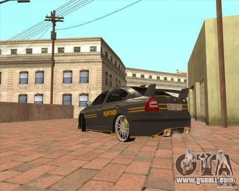 Skoda Octavia Taxi for GTA San Andreas back left view