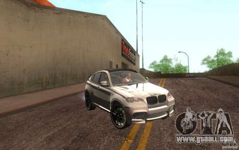 Bmw X6 M Lumma Tuning for GTA San Andreas left view
