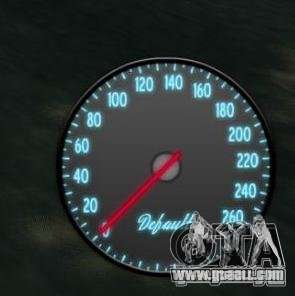 Speedometer IV (Skin 3) for GTA 4 second screenshot