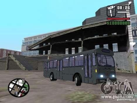 FBW Hess 91U for GTA San Andreas left view
