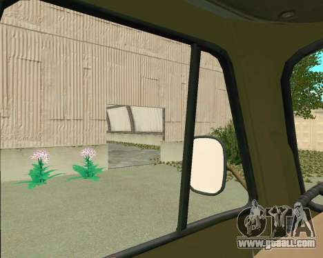 UAZ 3303 for GTA San Andreas inner view